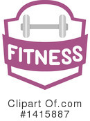 Fitness Clipart #1415887 by BNP Design Studio