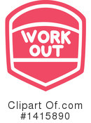 Fitness Clipart #1415890 by BNP Design Studio