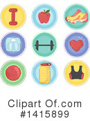 Fitness Clipart #1415899 by BNP Design Studio
