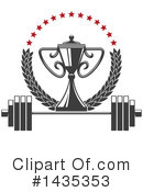Fitness Clipart #1435353 by Vector Tradition SM
