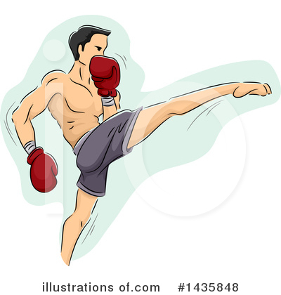 Boxing Clipart #1435848 by BNP Design Studio