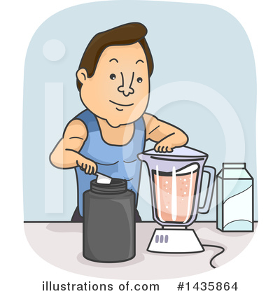 Royalty-Free (RF) Fitness Clipart Illustration by BNP Design Studio - Stock Sample #1435864
