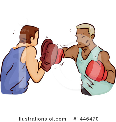 Boxing Clipart #1446470 by BNP Design Studio