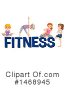 Royalty-Free (RF) Fitness Clipart Illustration #1468945