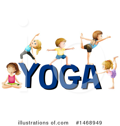 Yoga Clipart #1468949 by Graphics RF