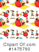 Fitness Clipart #1475790 by Graphics RF