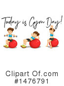 Fitness Clipart #1476791 by Graphics RF