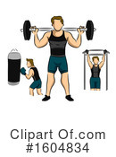 Fitness Clipart #1604834 by BNP Design Studio