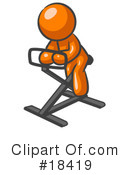 Fitness Clipart #18419 by Leo Blanchette