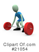 Fitness Clipart #21054 by 3poD