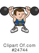 Fitness Clipart #24744 by AtStockIllustration