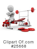 Fitness Clipart #25668 by KJ Pargeter