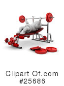 Fitness Clipart #25686 by KJ Pargeter