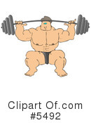Royalty-Free (RF) Fitness Clipart Illustration #5492