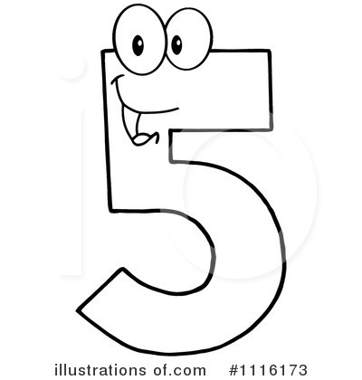 Five Clipart #1116173 by Hit Toon
