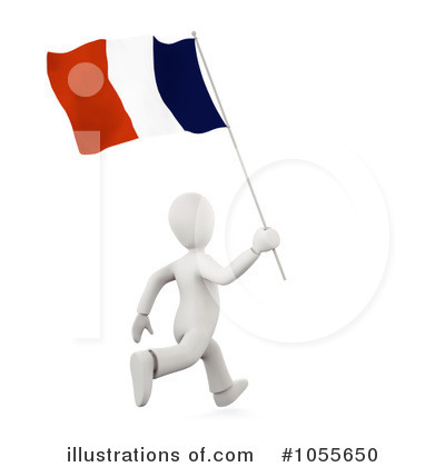 Royalty-Free (RF) Flag Clipart Illustration by chrisroll - Stock Sample #1055650