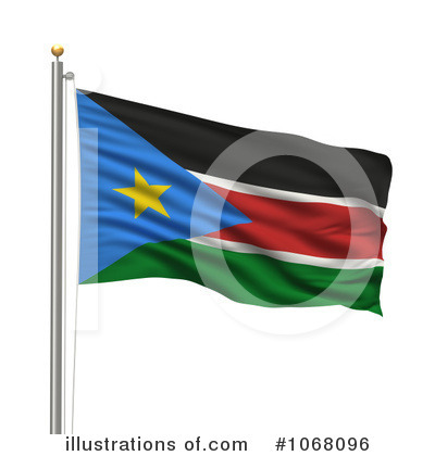 Royalty-Free (RF) Flag Clipart Illustration by stockillustrations - Stock Sample #1068096