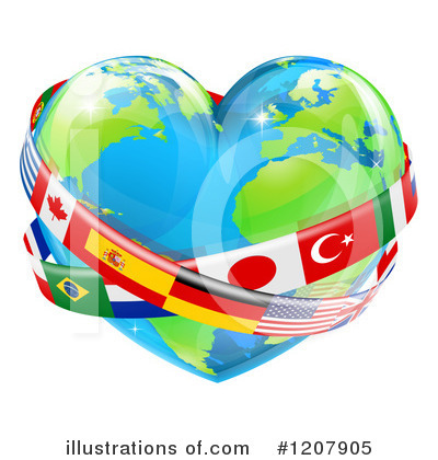 Flag Clipart #1207905 by AtStockIllustration