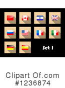 Flag Clipart #1236874 by Vector Tradition SM
