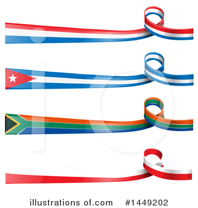 Flag Clipart #1449202 by Domenico Condello