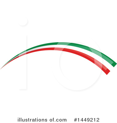 Royalty-Free (RF) Flag Clipart Illustration by Domenico Condello - Stock Sample #1449212
