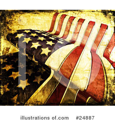 Royalty-Free (RF) Flag Clipart Illustration by KJ Pargeter - Stock Sample #24887