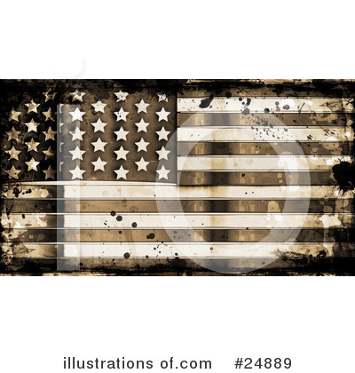 Royalty-Free (RF) Flag Clipart Illustration by KJ Pargeter - Stock Sample #24889