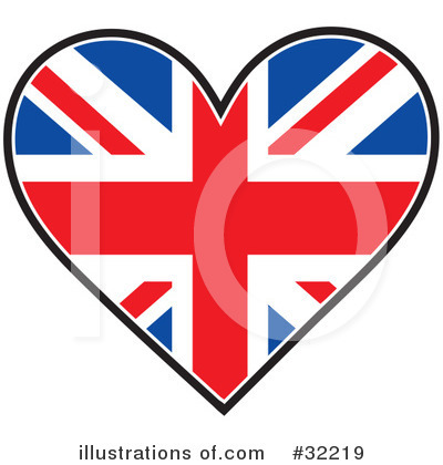 Royalty-Free (RF) Flag Clipart Illustration by Maria Bell - Stock Sample #32219