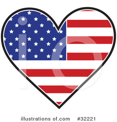 Flag Clipart #32221 by Maria Bell