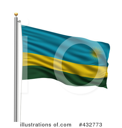 Royalty-Free (RF) Flag Clipart Illustration by stockillustrations - Stock Sample #432773