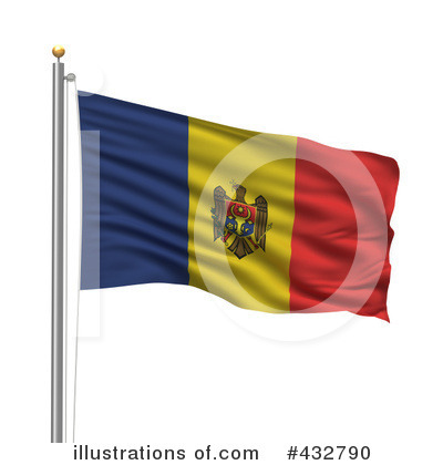 Royalty-Free (RF) Flag Clipart Illustration by stockillustrations - Stock Sample #432790