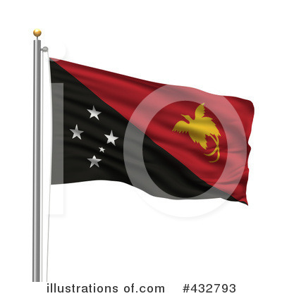 Royalty-Free (RF) Flag Clipart Illustration by stockillustrations - Stock Sample #432793