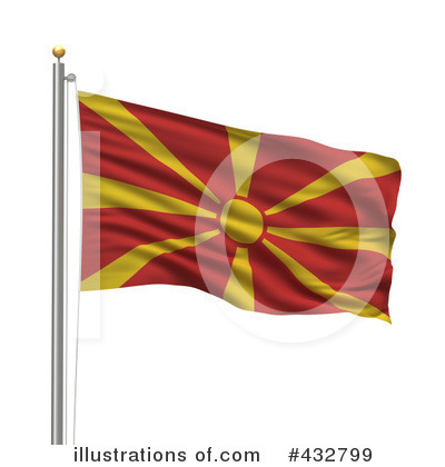 Royalty-Free (RF) Flag Clipart Illustration by stockillustrations - Stock Sample #432799