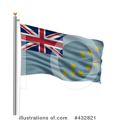 Royalty-Free (RF) Flag Clipart Illustration by stockillustrations - Stock Sample #432821