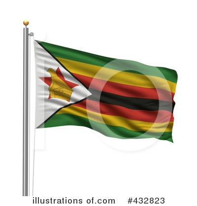 Royalty-Free (RF) Flag Clipart Illustration by stockillustrations - Stock Sample #432823