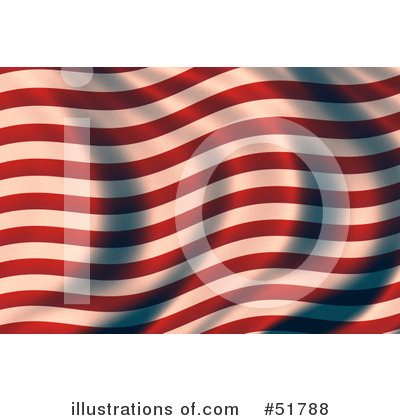 American Flag Clipart #51788 by stockillustrations
