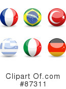 Flag Clipart #87311 by elaineitalia