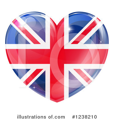 Union Jack Clipart #1238210 by AtStockIllustration