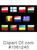 Flag Icons Clipart #1061240
