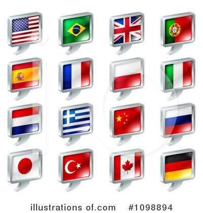 Flag Clipart #1098894 by AtStockIllustration