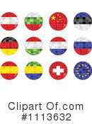 Royalty-Free (RF) Flags Clipart Illustration #1113632