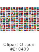 Flags Clipart #210499 by stockillustrations