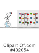 Royalty-Free (RF) Flags Clipart Illustration #432054