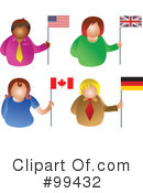 Flags Clipart #99432 by Prawny