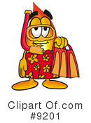 Royalty-Free (RF) flame Clipart Illustration #9201