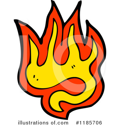 Royalty-Free (RF) Flame Design Clipart Illustration by lineartestpilot ...