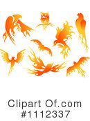 Royalty-Free (RF) Flames Clipart Illustration #1112337