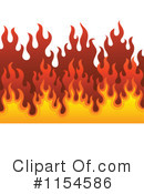 Flames Clipart #1154586 by visekart