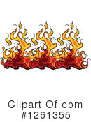 Flames Clipart #1261355 by Chromaco