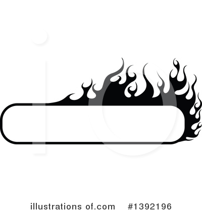 Flames Clipart #1392196 by dero